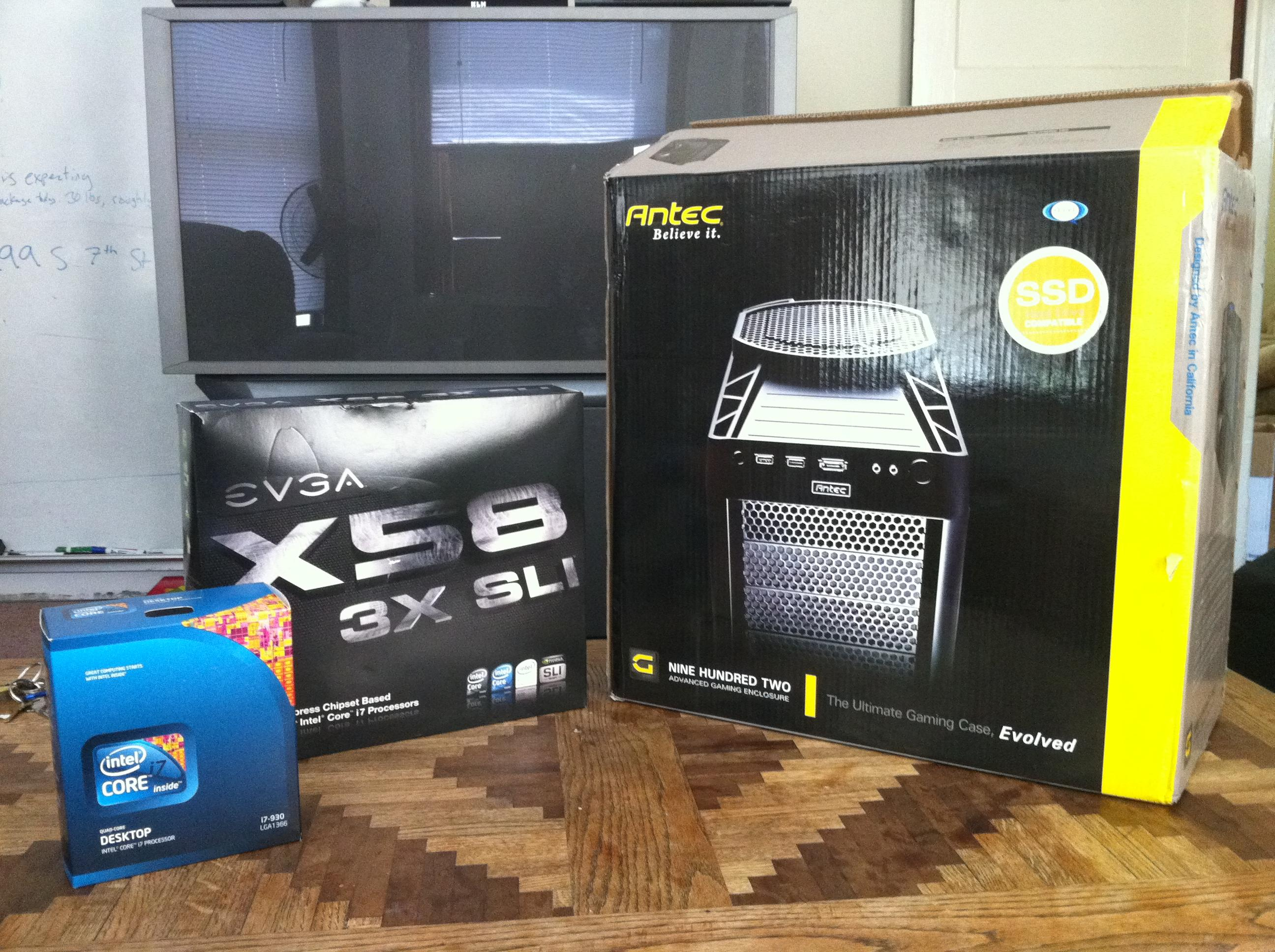 Mobo, Processor and Case