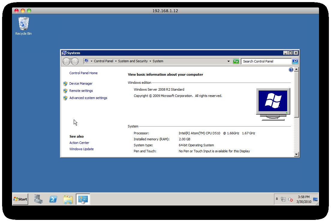 Atom Windows Server
